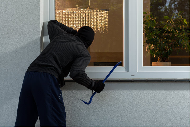 burglars check your home security
